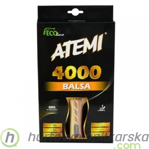 Rakietka do ping ponga Atemi 4000 Balsa anatomical