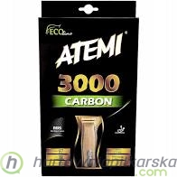 Rakietka do ping ponga Atemi 3000 Carbon anatomical