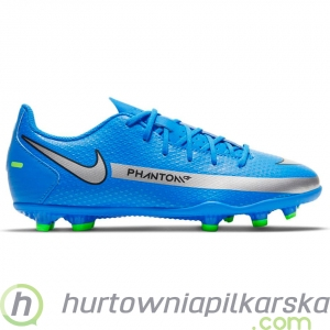 Buty piłkarskie Nike Phantom GT Club FG/MG Jr blue CK8479 400